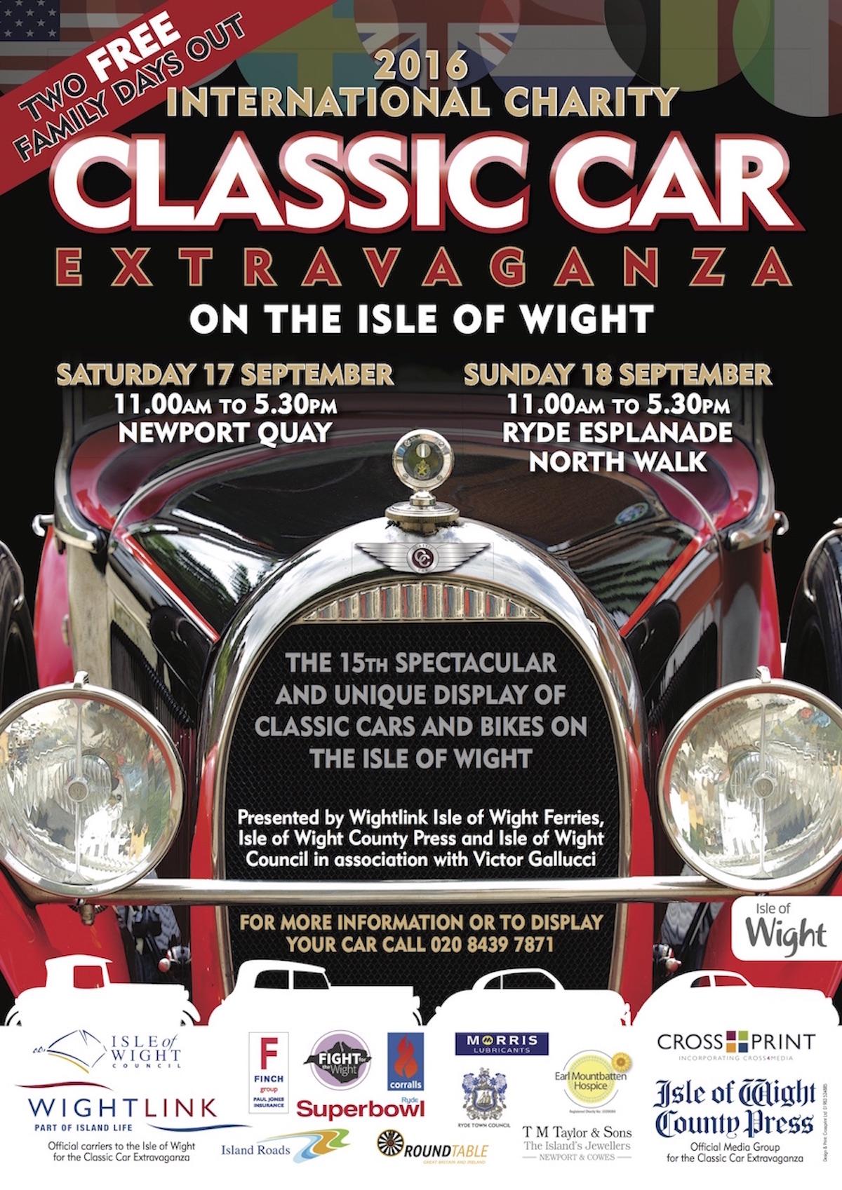 IW Classic Car poster 2016 A3 v3