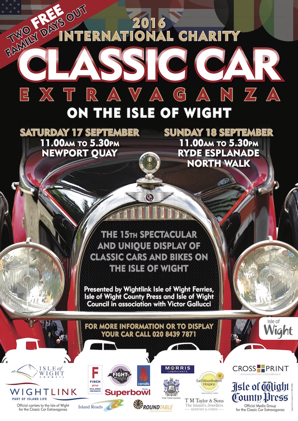IW Classic Car poster 2016 A3 v3