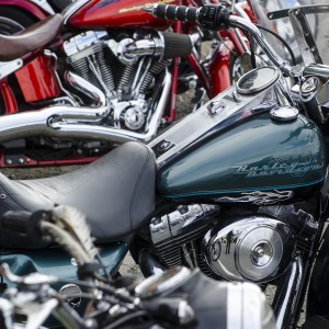 Classic motorcycles at isle of Wight Classic Car Show 2016