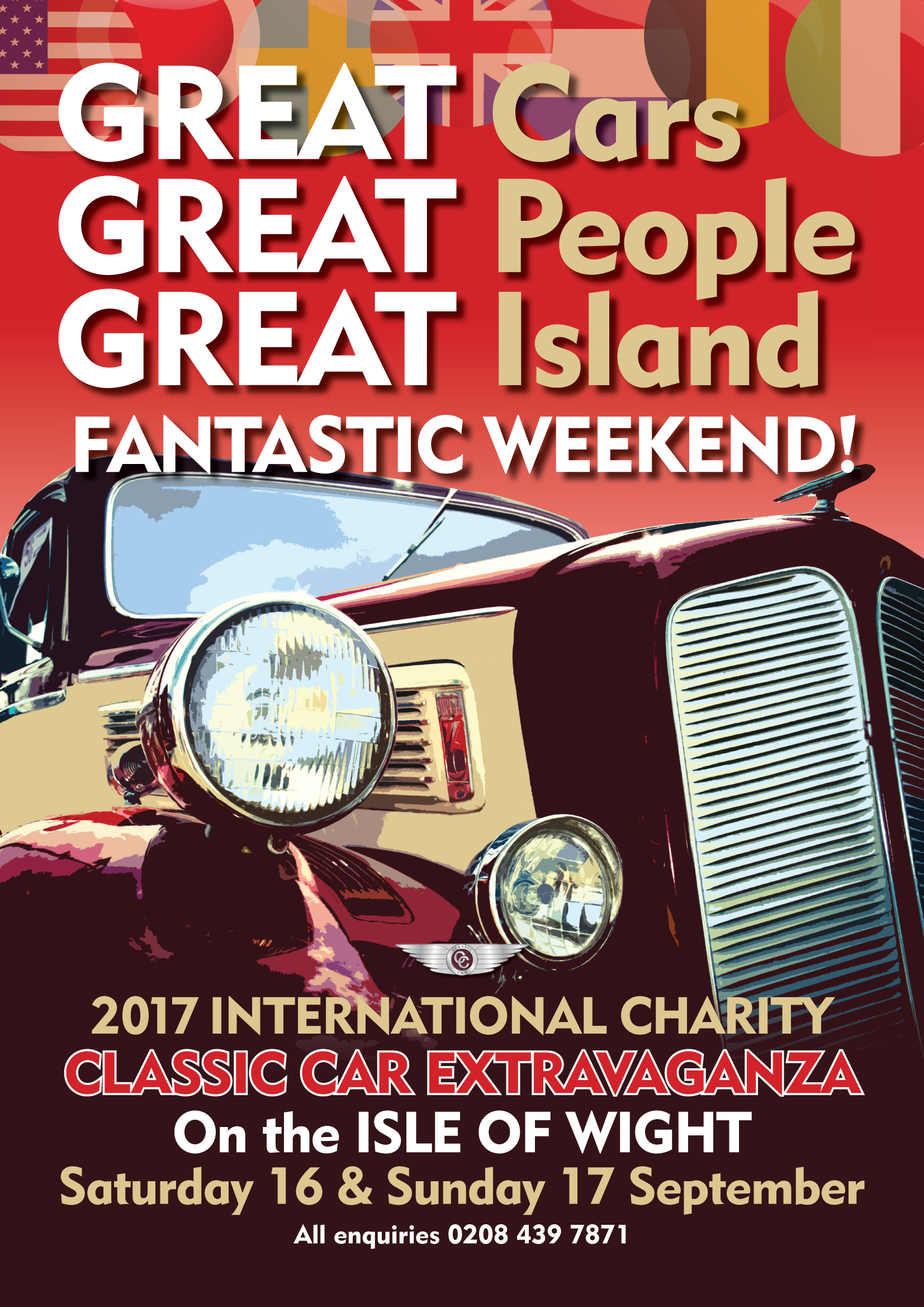 Isle of Wight Classic Cars 2017